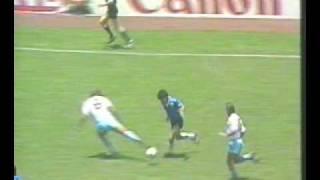 Soccer   Maradona   Goal Against England, World Cup 1986