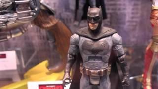 Batman V. Superman Dawn Of Justice Mattel SDCC 2015 Toy & Replica Display