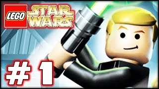 LEGO Star Wars The Complete Saga - Part 1 - The Jedi! (100%)