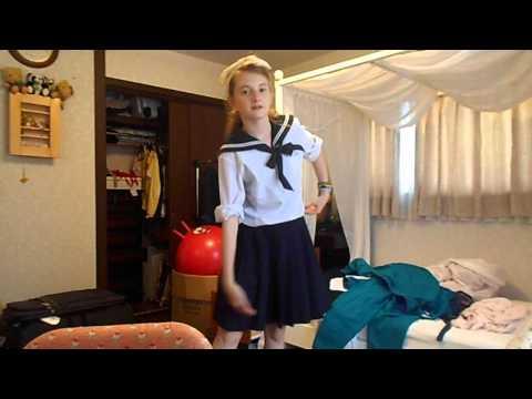 Japan Vlog 9 My school uniforms
