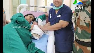 Brave Hearts airlifts Pregnant lady to have safe delivery in hospital | 17.08.18 | Jaihind TV