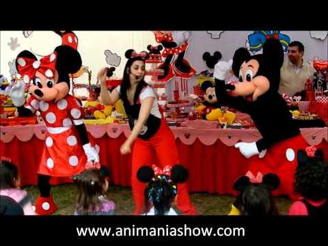 Animanía Show Mickey y Minnie