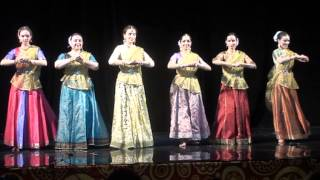 Teentaal Birju Maharaj by Chakkar Dance Group, Moscow, Russia