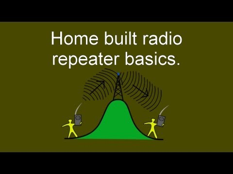 Portable Radio Repeater Project Realities Of Building A Home Brew Radio Repeater.