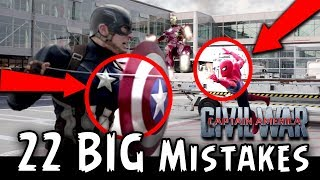 [FE] Filmy Errors - Captain America Civil War (22 BIG MISTAKES) (HINDI)
