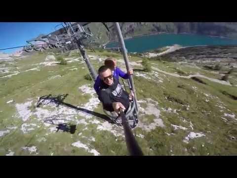 Taliansko - Cesta lanovkou na Marmoladu (3 343 m)