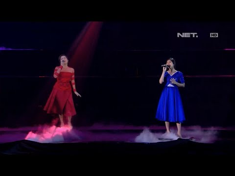 Isyana & Raisa - Mimpi & Anganku Anganmu - LIVE from NET 4.0 presents Indonesian Choice Awards 2017 mp3