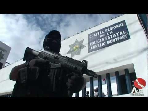 Inaugura SSP cuartel en la ciudad de Cardel Veracruz