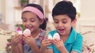Kinder Joy 2017 ad:  'My trust. Their Joy'