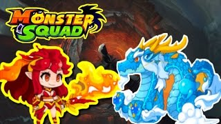 Monster Squad   Red Cube Update + HARDESR RAID EVER  + How To Get Dragon God