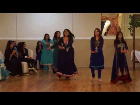 Girl's Desi Engagamenet Dance