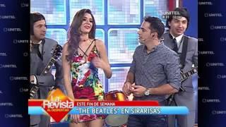 Humor: 'The Beatles' cantan en La Revista y le dedican una canción a Anabel