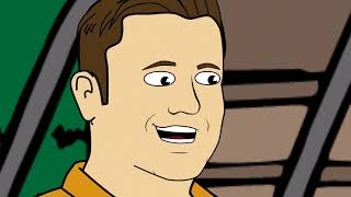 "Tom and Dan Toons! - Season #4 - Episode #24 - ""Mud-Slidin"