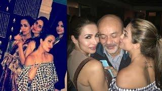Malaika Arora And Amruta Arora At Karan Johars House Party 2017 !!