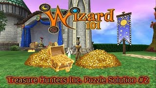 Wizard101 Treasure Hunters Inc #2 Puzzle Solution The Best Run Yet!