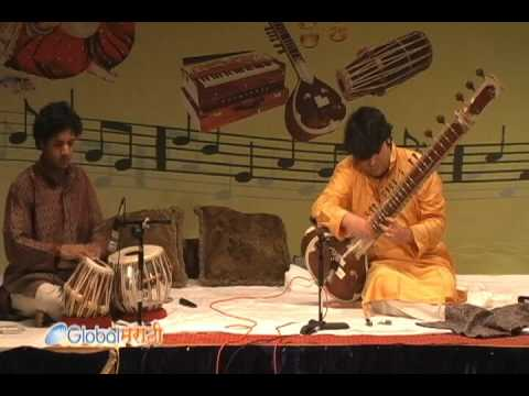 Parthasarathi Chatterjee's Sitar Recital at Philadelphia Ganesh Festival 2010