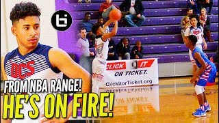 Julian Newman FROM NBA RANGE! Catches FIRE in Final Game at #TheJohnWall!