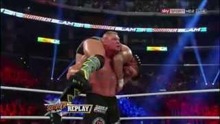 CM Punk VS Brock Lesnar (Summerslam 2013) - FULL MATCH