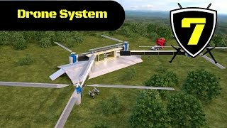 Dahir Insaat - Russian Drone System Concept Ship Attack Simulation