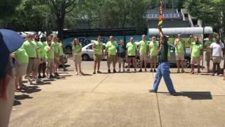 Gay Men's Chorus of Washington confronts protestors with music