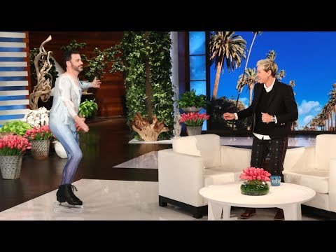 Jimmy Kimmel Jamie Foxx and Chance the Rapper Surprise Ellen During Her Star Studded Birthday Show