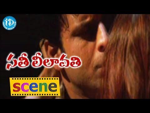 Shilpa Shetty And Manoj Bajpai Love Scene - Sathi Leelavathi Movie