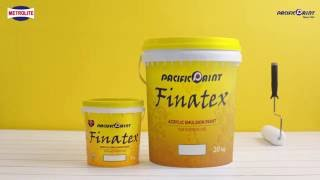FINATEX - Acrylic Emulsion Paint for Interior Use | Pacific Paint