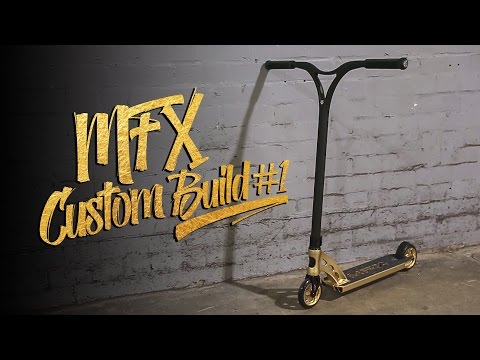 Madd Gear   Luke Churchill   MFX Custom Build #1 Pro Scooter