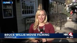 Bruce Willis Films Movie in Ohio
