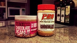 P28 Protein Peanut Butter VS. Nuts 'N More Protein Peanut Butter