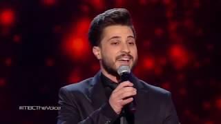ذا فويس - أحمد الحلاق - عيني بترف - مرحلة العروض المباشرة - احلي صوت The Voice