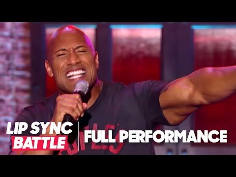 Dwayne Johnson s Shake It Off vs Jimmy Fallon s Jump In The Line Lip Sync Battle