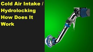 COLD AIR INTAKE HYDROLOCK SHIELD BYPASS VALVE EXPLANATION