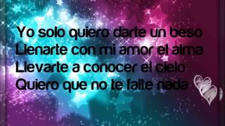 Prince royce - Darte un beso (letra)