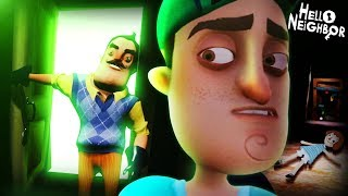 THE BACKSTORY OF EVERYTHING    Hello Neighbor (ACT 1 ENDING)