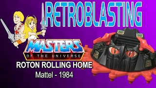 Masters of the Universe He-Man Roton Vintage Toy Review - Mattel 1984