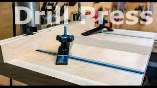 A basic drill press table