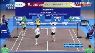 [HD] 2014.3.21 - MD - Liu X.L. / Liu C. vs Kang J. / Tao J.M. - China Badminton Super League
