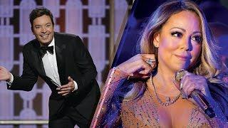 Shade Alert! Jimmy Fallon SLAMS Mariah Carey at 2017 Golden Globes Over New Year