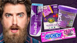 Acai Berry Product Taste Test