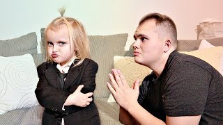 BOSS BABY Controls Uncle Derek for 24 Hours!