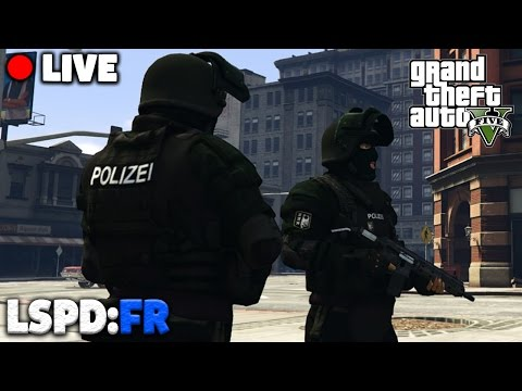 GTA 5 POLIZEI MOD - SWAT / SEK Einsätze - Deutsch - Grand Theft Auto V LSPDFR LIVE