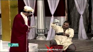 AKBAR E AZAM IN PAKISTAN - UMAR SHARIF - PAKISTANI COMEDY STAGE DRAMA