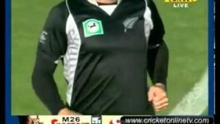 4th ODI Highlights New Zealand vs Pakistan Napier 2011 part 5