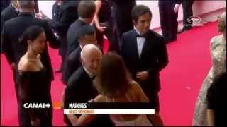 بوسه جنجالی لیلا حاتمی در فستیوال فیلم کن 2014