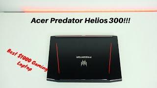 Acer Predator Helios 300: Best $1000 Gaming Laptop!