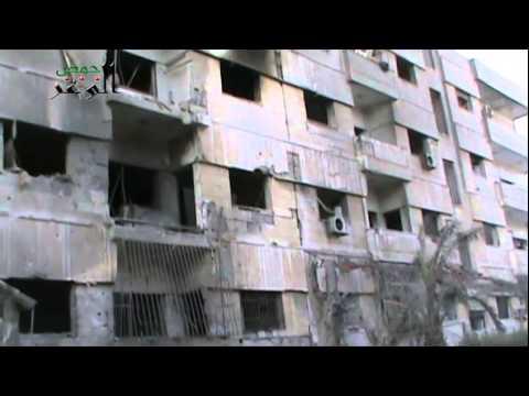 Xxx Mp4 حمص الصامدة حي الوعر 14 4 2014 الدمار الذي خلفه الصاروخ الثقيل الذي أستهدف الحي 3gp Sex