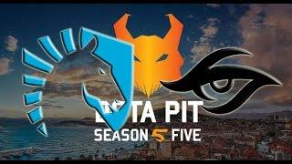 Highlights Team Liquid vs Team Secret Game 2  Dota Pit League Season Five