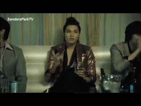 Sandara Park / Dara & Lee Min Ho - kiss Official Music Video teaser HD