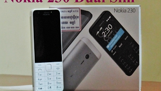Nokia 230 Dual Sim, Unboxing - Microsoft - Video Review HD